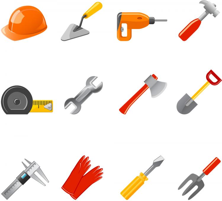 free vector Common tool icon vector