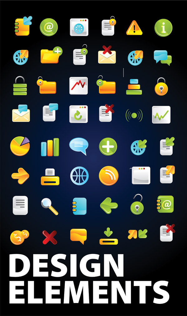free vector Commonly used vector graphics icon