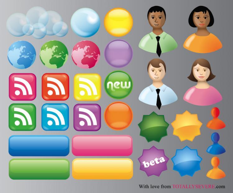 free vector Communication Symbols