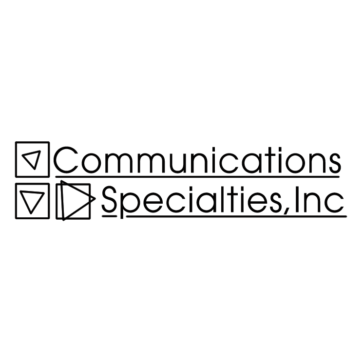free vector Communications specialties
