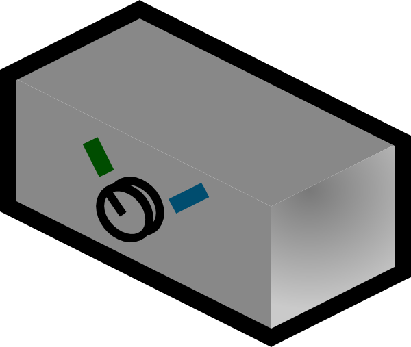 free vector Commutator clip art