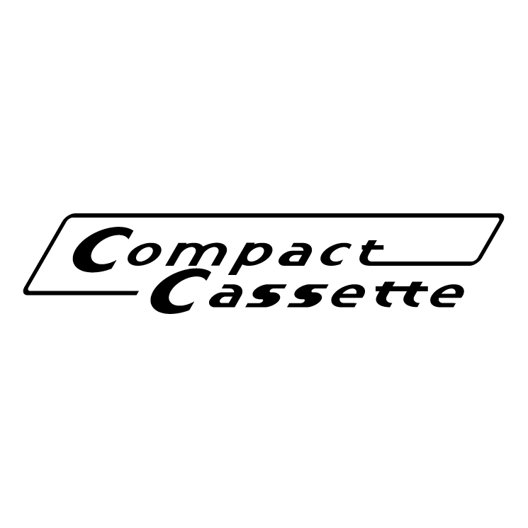 free vector Compact cassette