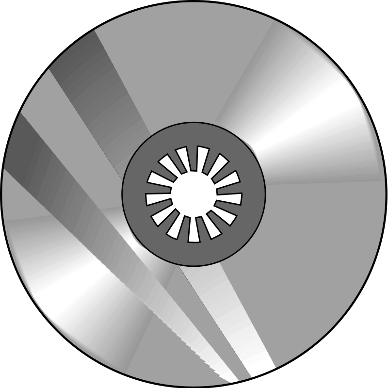compact disk 03 free vector    4vector