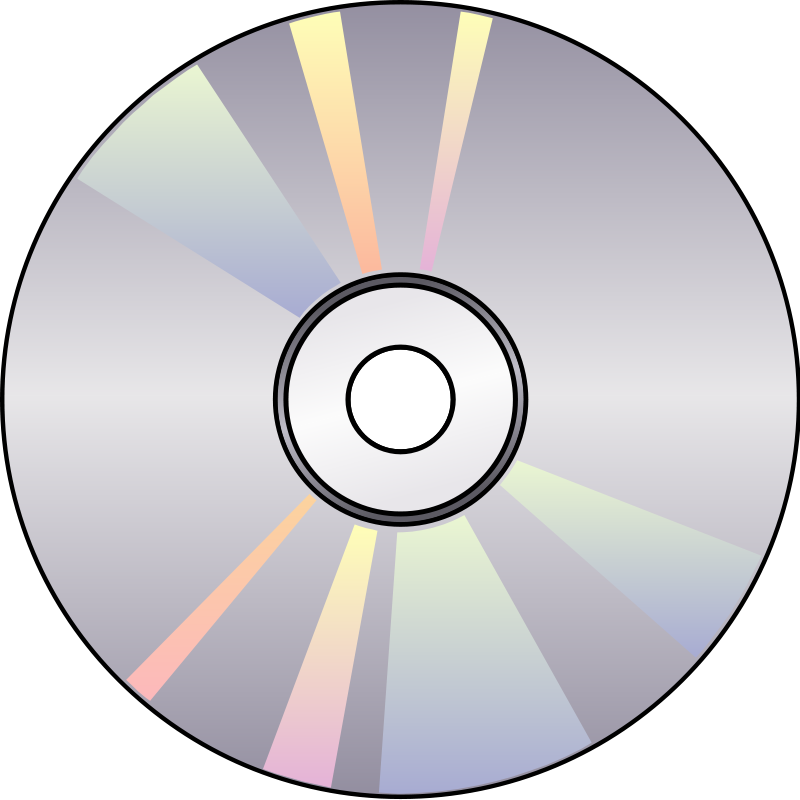 free vector Compact disk 05