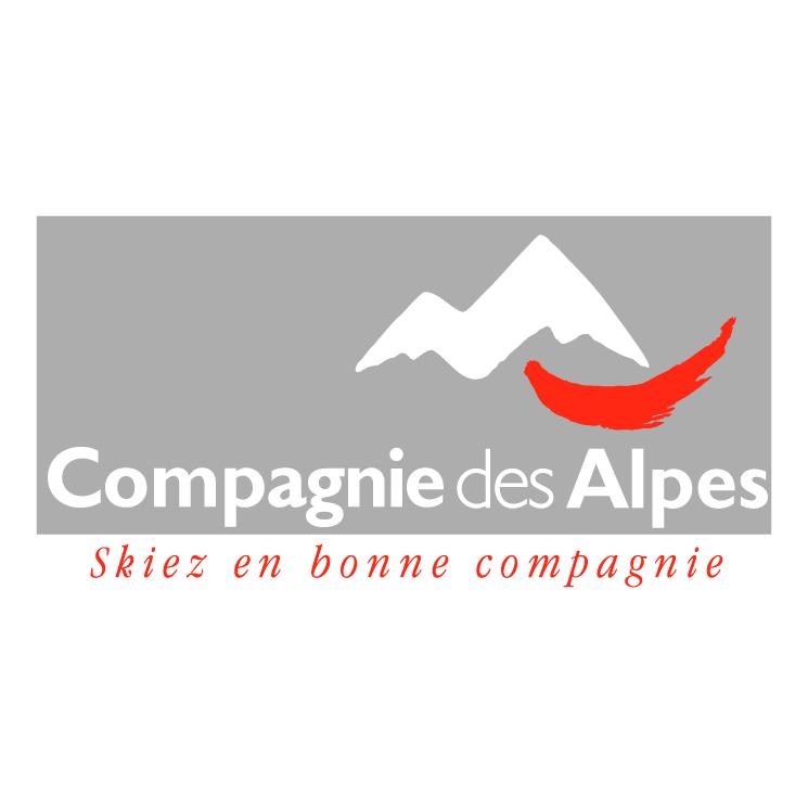 free vector Compagnie des alpes