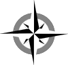 free vector Compass Rose clip art