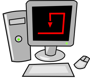 free vector Computer Cartoon Desktop clip art
