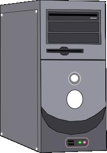 free vector Computer Case clip art