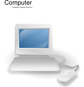 Computer clip art Free Vector / 4Vector