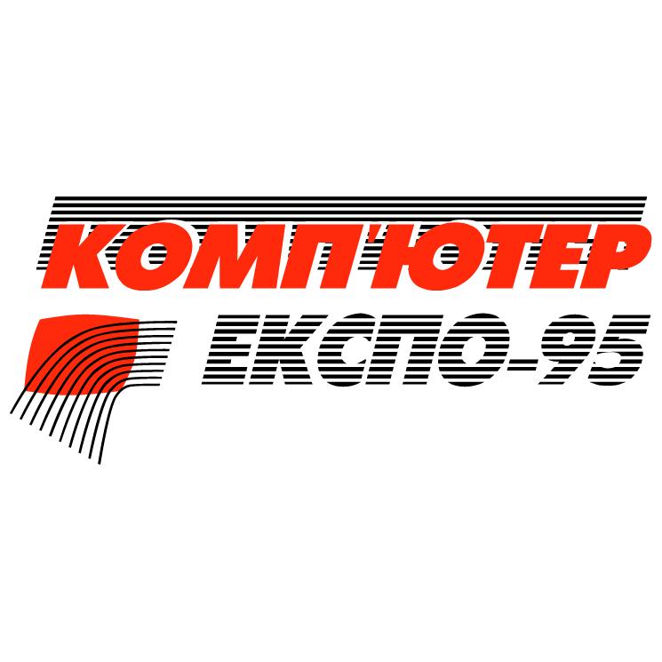 free vector Computer expo 95