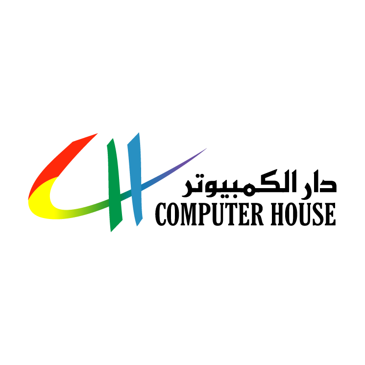 free vector Computer house