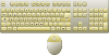 free vector Computer Keyboard And Mouse clip art