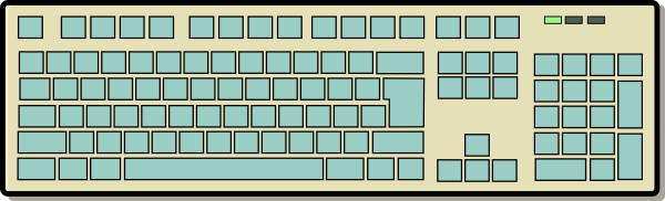 free vector Computer Keyboard clip art