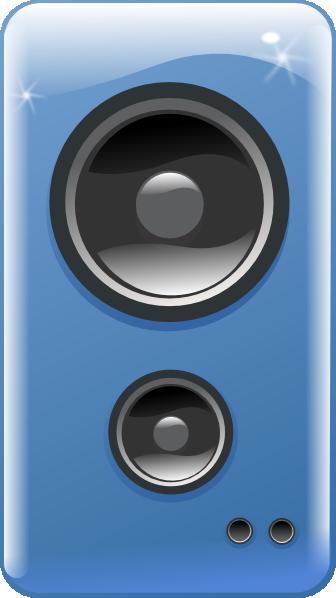free vector Computer Loudspeaker clip art