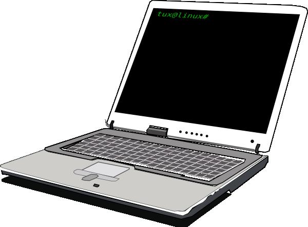 free vector Computer Notebook clip art