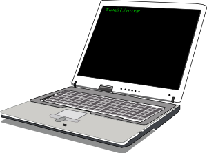 free vector Computer Notebook clip art