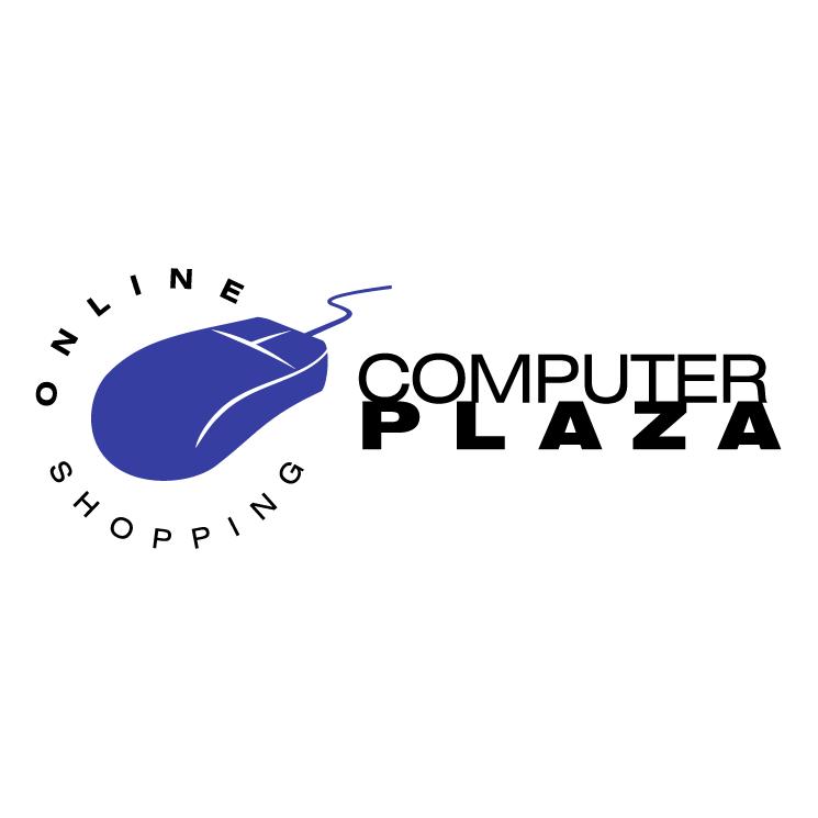 free vector Computer plaza