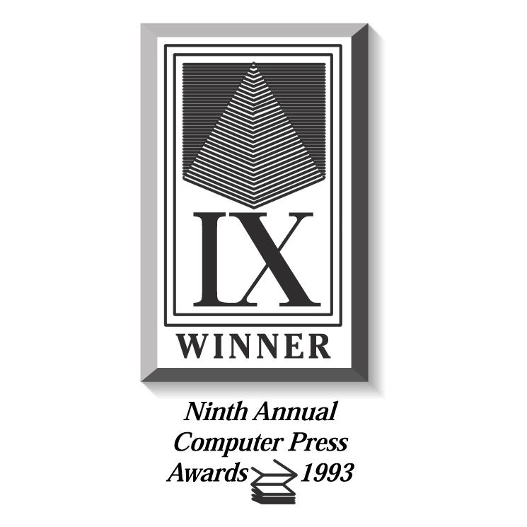 free vector Computer press awards 0