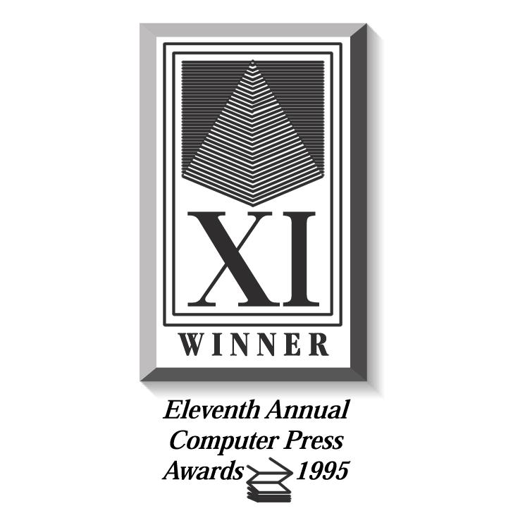 free vector Computer press awards 2