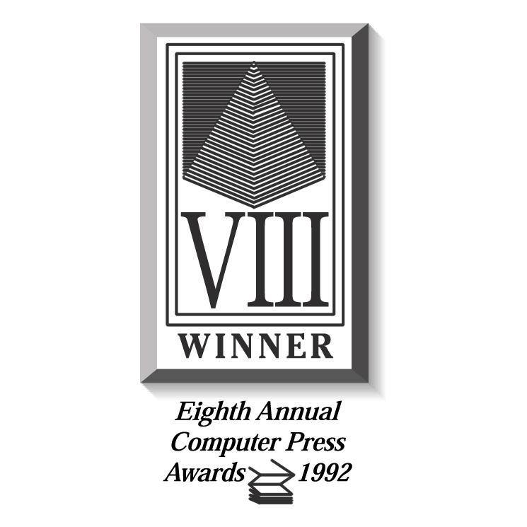 free vector Computer press awards