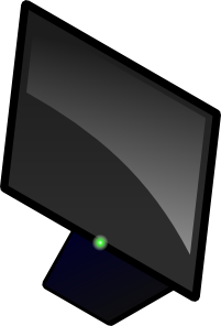 free vector Computer Screen clip art