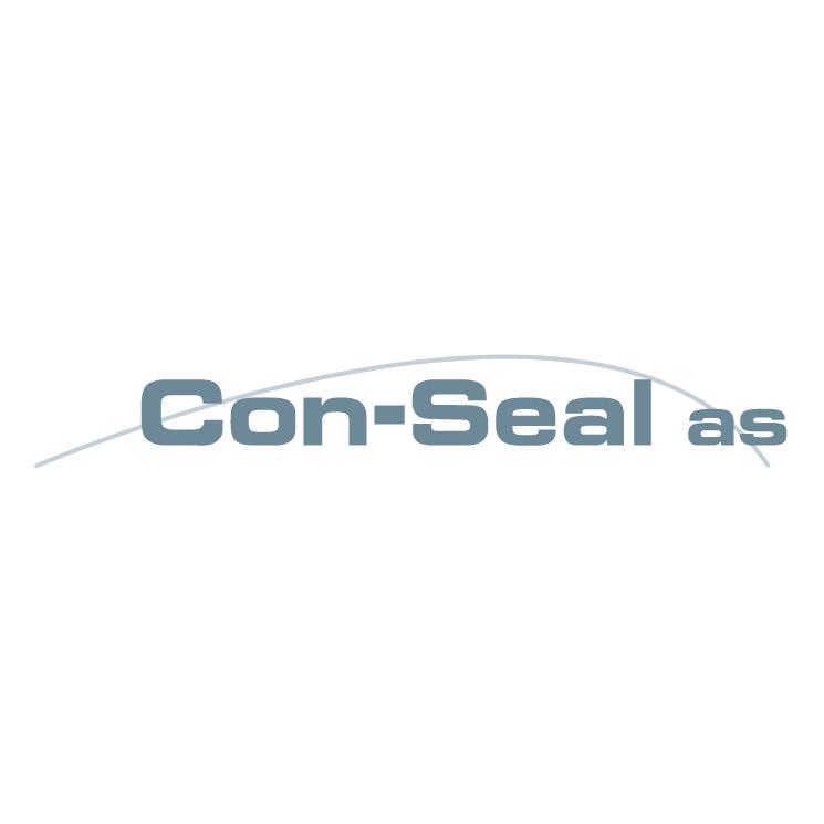 free vector Con seal as