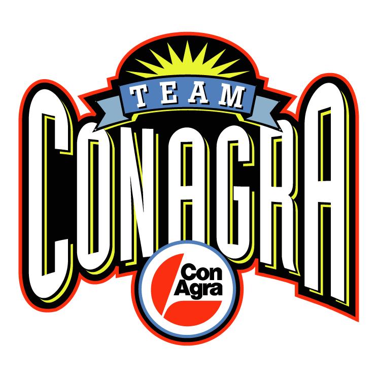 free vector Conagra team