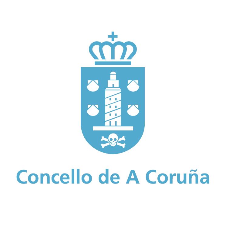 free vector Concello de a coruna