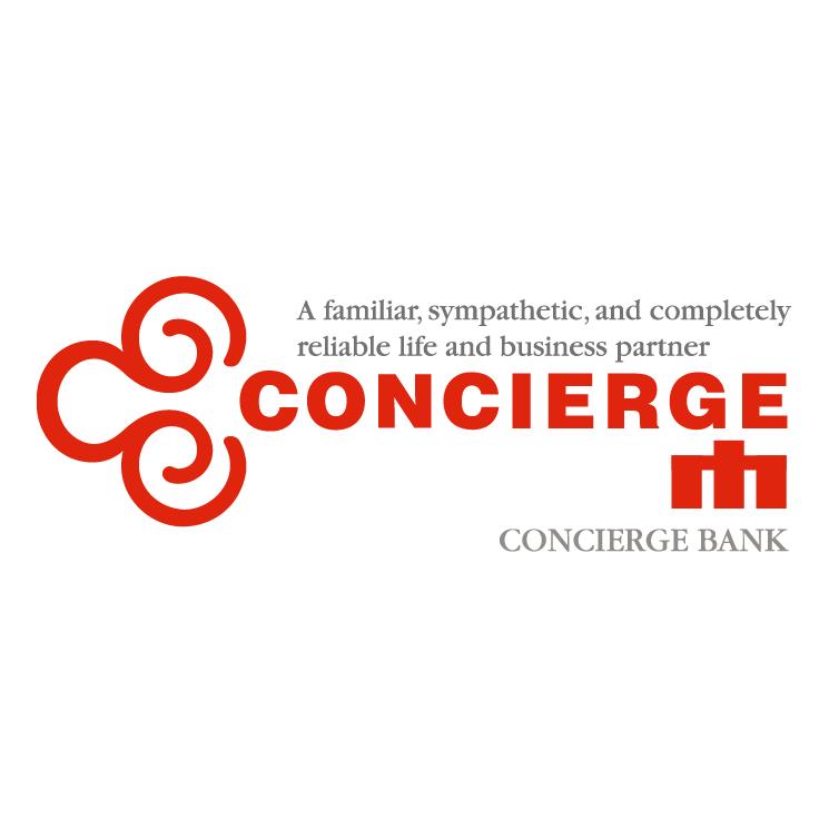 free vector Concierge bank