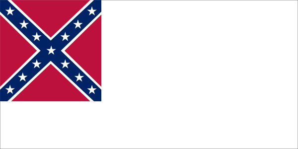 free vector Confederate National Flag Since Mai To Mar clip art