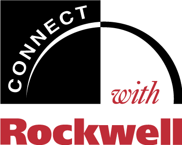 free vector Connect with Rockwell logo