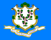 free vector Connecticut Flag clip art