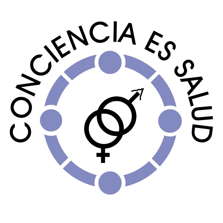 free vector Consciencia es salud