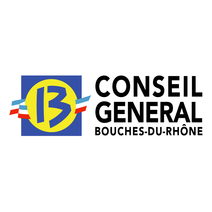 free vector Conseil general des bouches du rhone 0