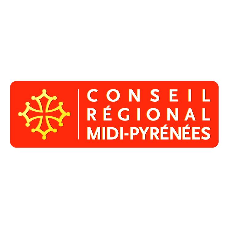free vector Conseil regional midi pyrenees