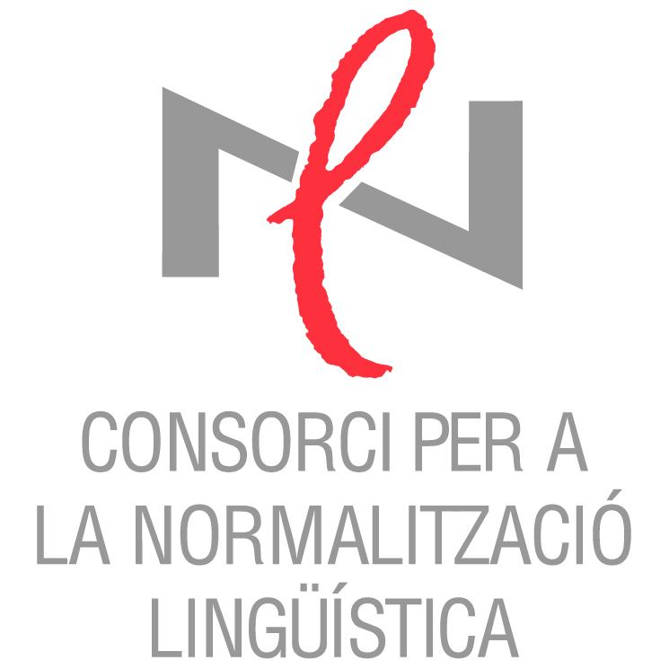 free vector Consorci per a la normalitzacio linguistica
