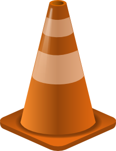 free vector Construction Cone clip art