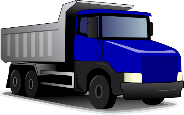 free vector Construction Truck clip art