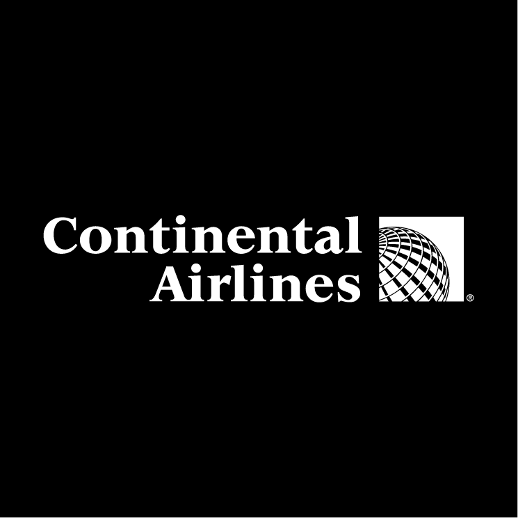 free vector Continental airlines 3
