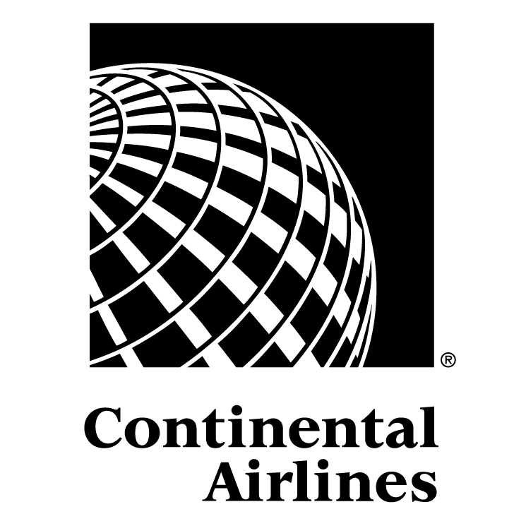 free vector Continental airlines 4
