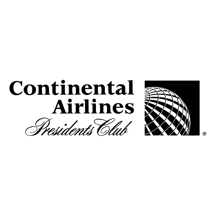 free vector Continental airlines presidents club