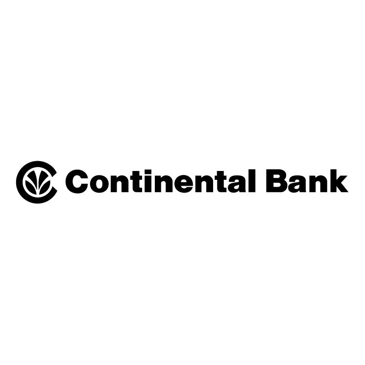 free vector Continental bank