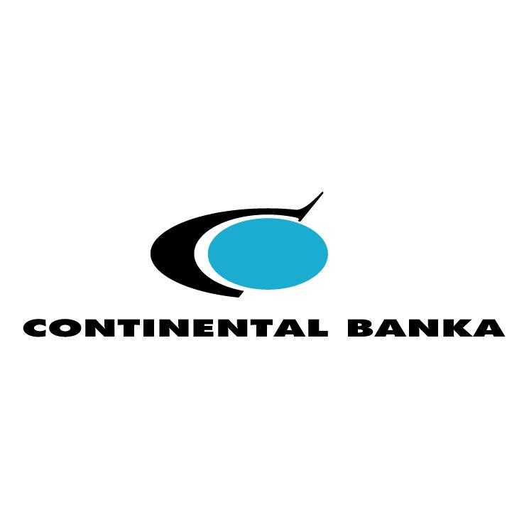 free vector Continental banka