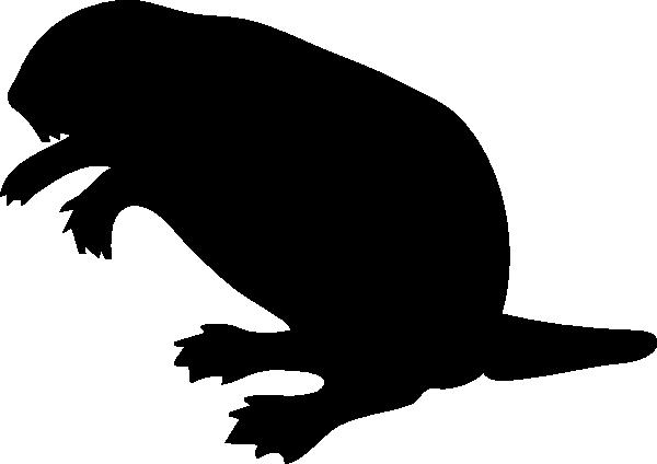 Contour Chipmunk clip art Free Vector / 4Vector