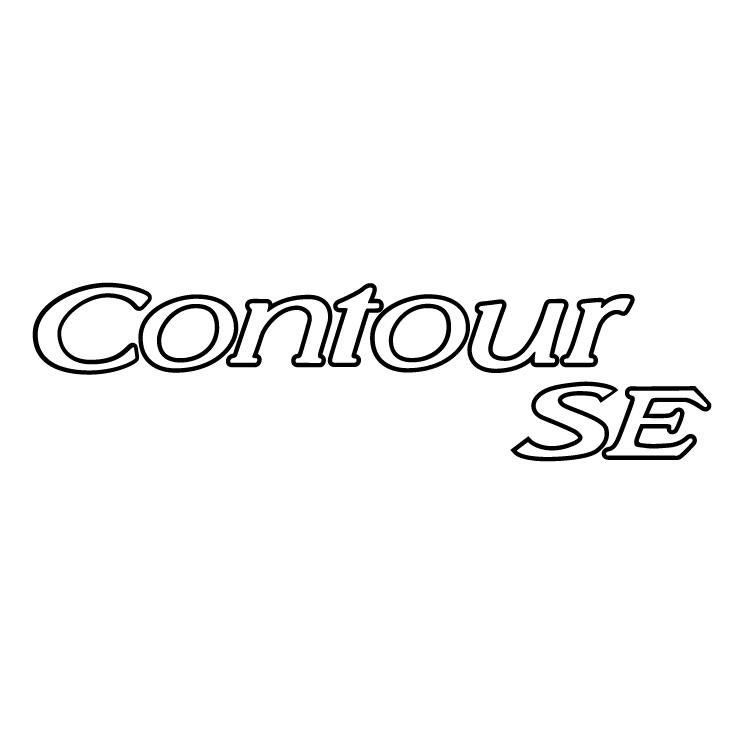 free vector Contour se