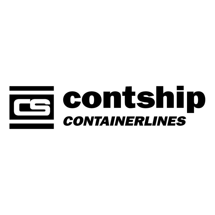 free vector Contship containerlines