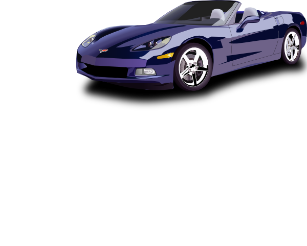 Convertible Sport Car clip art Free Vector / 4Vector