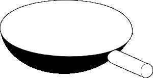 free vector Cooking Frying Pan clip art