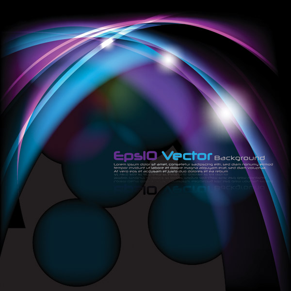 free vector Cool glare background vector