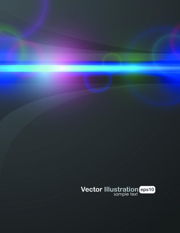 free vector Cool halo background vector 4